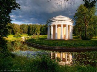 Pavlovsk (le Grand Palais et le Parc)