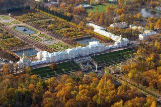 Péterhof (le Grand Palais et le Parc)
